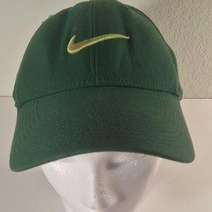 Nike green one size legacy 9 unisex hat